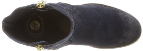 Hudson London Riley Damen Biker Boots Blau (Navy)