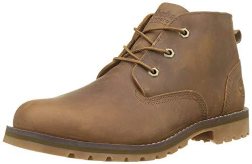 Timberland Men s Larchmont WP Chukka Boots   Dark Brown Full Grain P01   8  42 EU