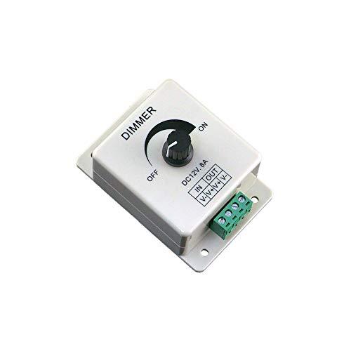 12 V 8A PIR Sensor - Für Led Streifen Lichtschalter Dimmer Helligkeit Einstellbare Controller (Installieren Lichtschalter Dimmer)