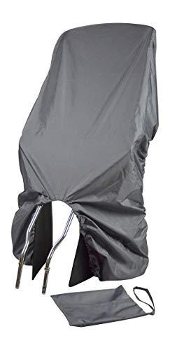 TROCKOLINO Regenschutz für Fahrrad-Kindersitz - grau