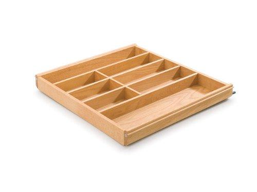 Range-couverts pour tiroir en bois de hêtre Largeur 69,4 cm
