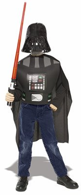 Original Star Wars Darth Vader Kostüm Karneval Fasching Größe 128/140 (Das Original Darth Vader Kostüm)