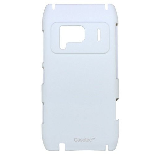 Casotec Ultra Slim Hard Shell Back Case Cover for Nokia N8 - White  available at amazon for Rs.149