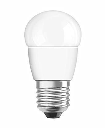 OSRAM LED SUPERSTAR Ampoule LED, Forme sphérique, Culot E27, Dimmable, 6W Equivalent 40W, 220-240V, dépolie, Blanc Chaud 2700K, Lot de 1 pièce
