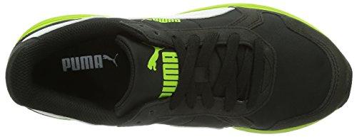Puma Ftr St Runner Nl, Baskets mode mixte adulte Noir (Black-Lime Green-White 07)