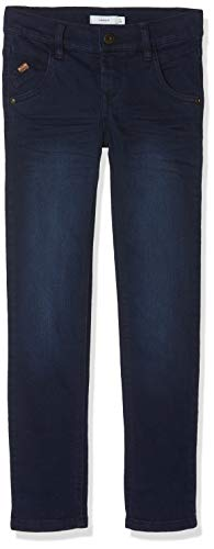 NAME IT Jungen Hose NKMTHEO DNMZAC 3174 Pant NOOS, Blau (Blau Dark Blue Denim), 146