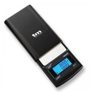 TM ELECTRON tmpbs002–Taschenwaage, Digital, Genauigkeit mit Maximale Kapazität 100g, selbstausschalter und Auto Null Küchenwaage, W - Pantallas Autos