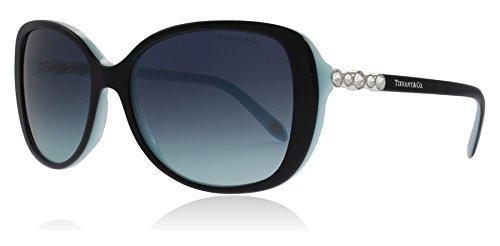 Tiffany & Co. Damen 0TY4121B 80559S 55 Sonnenbrille, Schwarz (Black/Blue/Blueegradient),