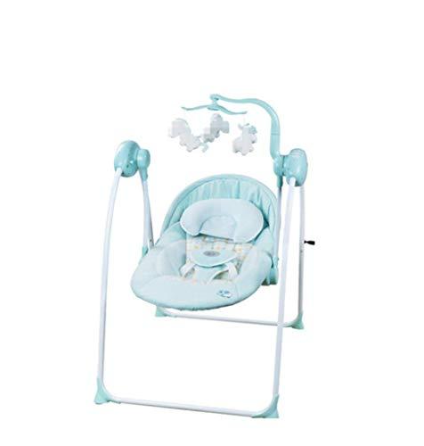 Baby Shaker - Baby Elektro Schaukelstuhl, BB Shaker, Liege, Komfort Schaukelstuhl, Schaukel, MP3-Player, zwei komfortable Rückenlehne, geeignet für 0 bis 3 Jahre alt Cradle-mp3-player