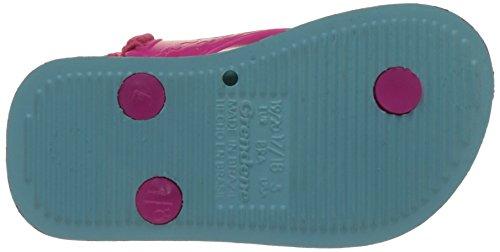 Ipanema Unisex Baby Temas V Sandalen Bleu (BLUE/PINK)