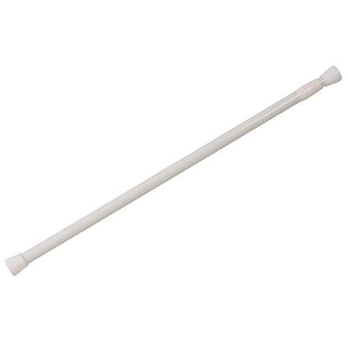 Anaterra Duschstange 140-260 weiß/Glas Band, 10000863