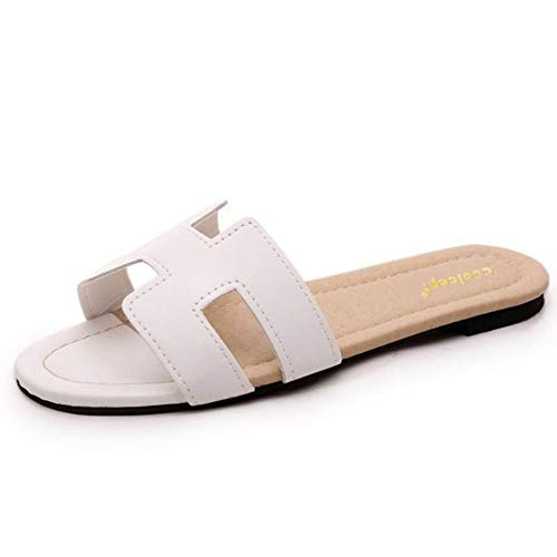 Donne Aperto Indietro Sandali Casual Outdoor Beach Scarpe Estate Flats Lady Moda Infradito Slip on Open Toe Calzature