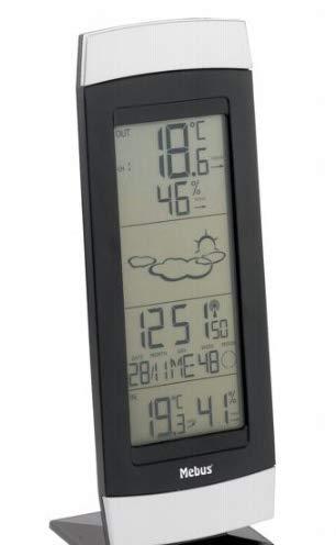 sainlogic Professionelle Funk Wetterstation - 10 in 1 Wifi Internet WLAN Wetterstation mit Außensensor, Regenmesser, Windmesser, Wettervorhersage, Farbdisplay, Wunderground