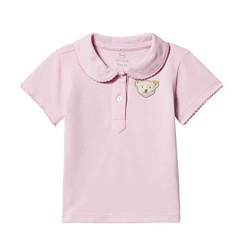 Steiff Baby-Mädchen Poloshirt, Violett (Pastel Lilac 7008), 68
