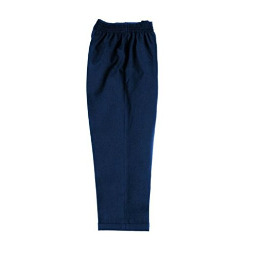 TruForm Boys Half Elasticated Zip /& Hook School Uniform Teflon Slim Fit Trousers