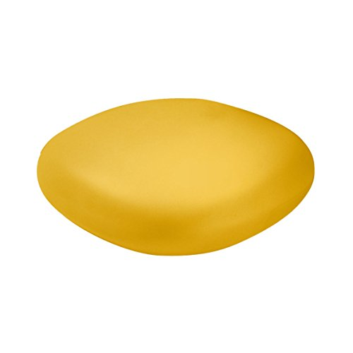 Slide Chubby Low Pouf - Table Basse Jaune Safran