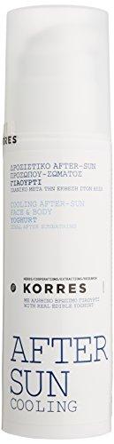 Korres Yoghurt After-Sun Cooling Gel für Gesicht und Körper,1er Pack (1 x 150 ml)