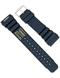 24mm–Buceo deportivo reloj de pulsera Silicona Azul