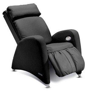 Massagesessel | Massagestuhl Leder schwarz Keyton Tecno - Top Angebot von welcon.de