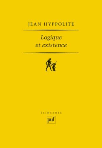Logique et Existence