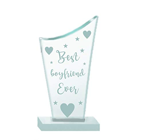 Paper Plane Design Valentines Day Gifts, Valentine Gift for Your Loved one, Crystal Mementos and Trophy for Couples Boyfriend Girlfriend Multicolor (Mult4)
