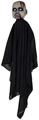 Rasen Pfahl Lustiger Streich Süßes oder Saures Unheimlich Halloween Horror Party Kostüm Kleid Outfit Dekoration Requisit ()