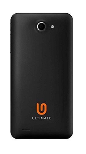 Ultimate UK UM450 4.5 Quad Core High Performance 3G Dual SIM Unlocked SIM Free Smart Phone Black