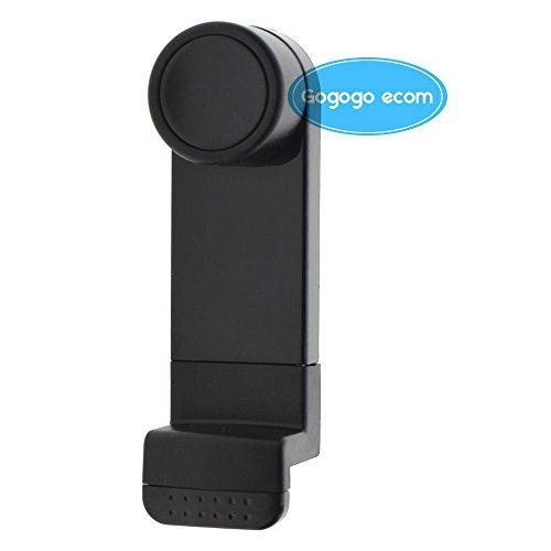 Support Téléphone Portable à Grille de Sortie Aération de Voiture pour iPhone 6/6/5S/4S, Samsung Galaxy S5/Note 2/3 (Noir)