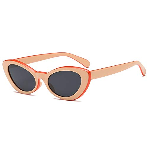 SNXIHES Sonnenbrillen Neue Frauen Kleine Cat Eye Sonnenbrille Candy Farbe Hohe Qualität Vintage Cateye Oval Sonnenbrille Brillen 8