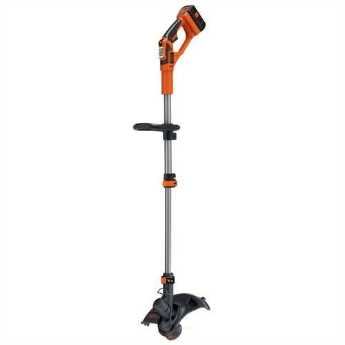 BLACK+DECKER GLC3630L20-QW Coupe Bordures sans Fil 36V Orange 30 cm