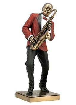 Wu Saxophon Player Statue Skulptur Figur-Jazz Band Collection by