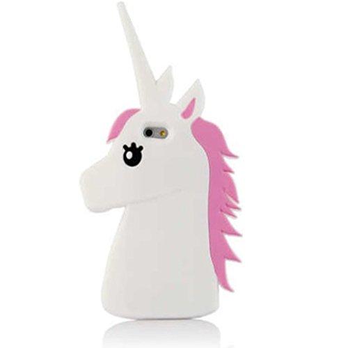 eHenZ® TM carcasa diseño unicornio 3D, funda carcasa para iPad 2,3,4; iPhone 7,7+, 6,6+, 5..., compatible con iPhone 6