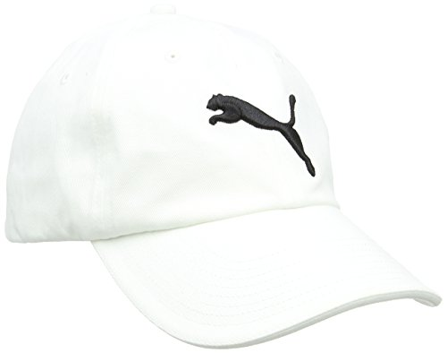 PUMA Erwachsene Essential Cap, White-Cat Logo, One size, 832400 02