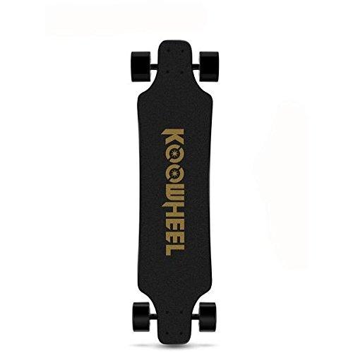 KOOWHEEL Skateboard Elektro Version aktualisiert D3M Hub A Bürste Doppelt Geschwindigkeit mit Tasche 2Fernbedienungen