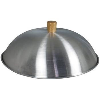Aluminium Wok-Deckel, 33 cm: Amazon.de: Küche & Haushalt