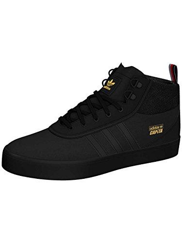 Herren Skateschuh adidas Skateboarding X Capita Adi-Trek Skateschuhe core black/scarlet/gold m