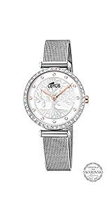 Lotus Reloj Analógico para Mujer de Cuarzo con Correa en Acero Inoxidable 18709/1