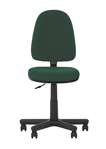 Prestige II Bürodrehstuhl, ergonomisch, neigbare Rückenlehne,Sitz verstellbar, verstellbare Rückenlehne, keine Armlehnen,130 kg Tragkraft,-aus Stoff