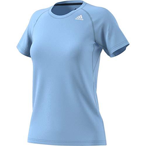 adidas Performance Damen Trainingsshirt Prime Kurzarm hellblau (299) S
