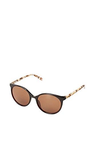 ESPRIT Runde Sonnenbrille mit Bügeln in Marmor-Optik