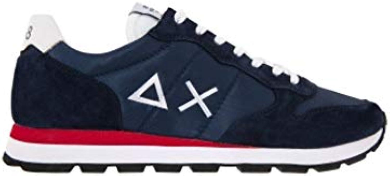Sun68 Z19101 07 Navy blu Tom Solid Nylon Nylon Nylon Uomo Moda Casual scarpe da ginnastica   Nuove varietà sono introdotte  106af4