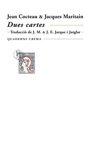 Dues cartes (Biblioteca Mínima) por Jean Cocteau
