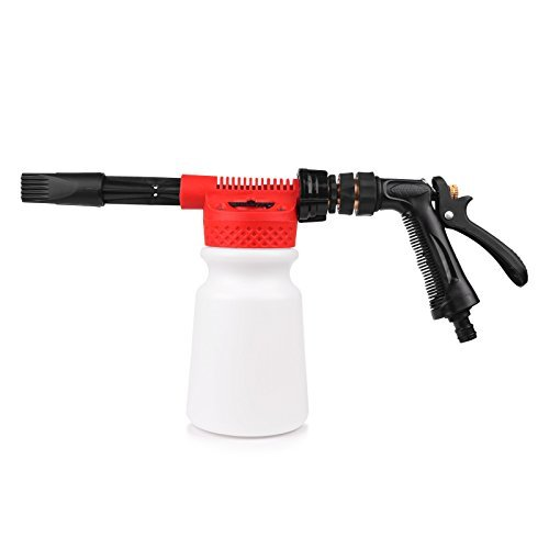 LemonBest® Snow Foam Lance, Car Cleaning Foam Gun Washing Foamaster Gun Water Soap Shampoo Sprayer 900ml