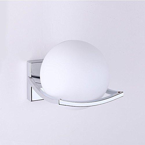 geoco glaskugel led wandleuchten modern wandleuchte innenmetall edelstahl halterung wandleuchten. Black Bedroom Furniture Sets. Home Design Ideas