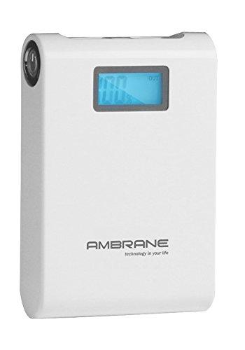 Ambrane P-1000 Power Bank (White)