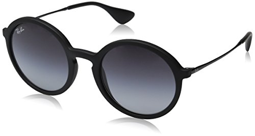 Rayban Unisex Sonnenbrille RB4222 Gestell: schwarz,Gläser: grau verlauf 622/8G), Medium (Herstellergröße: 50)