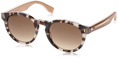 Fendi Damen Ff 0086 Sonnenbrille, Sptthvn Beige/Brown Sf, 50