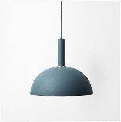 self-my éclairage de plafond de la style minimaliste moderne desván personnalité créatrice restaurant café bar en aluminium bleu foncé tube long + Bleu Foncé Half-Round la couverture arrière de la lampe 35lampes de lustre