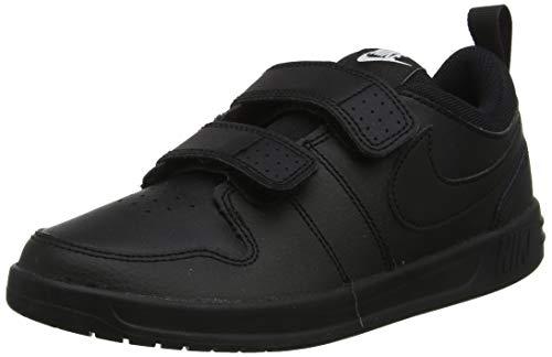 Nike Pico 5 PSV, Zapatillas de Tenis Unisex Niños, Negro Black/Black/Black 001, 35 EU