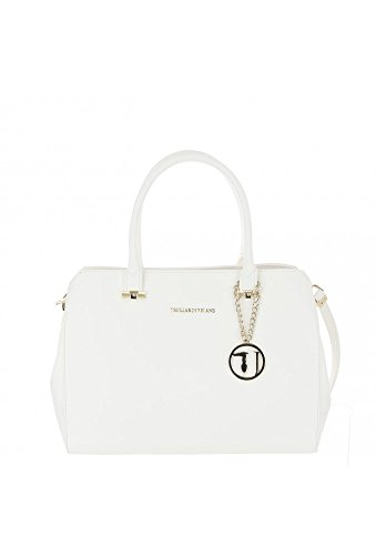 Trussardi Jeans 75B00011-1Y090122 Shopper Femme Blanc TU